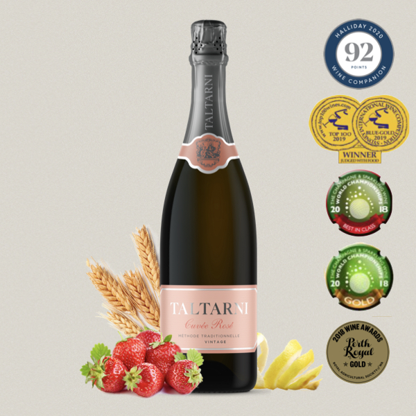 托塔尼 Taltarni 法式傳統氣泡酒 玫瑰粉 Cuvee Rose