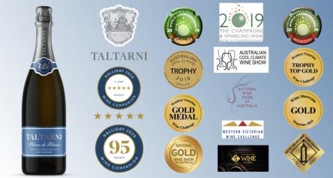 托塔尼 Taltarni 旗艦商品 法式傳統氣泡酒 水藍