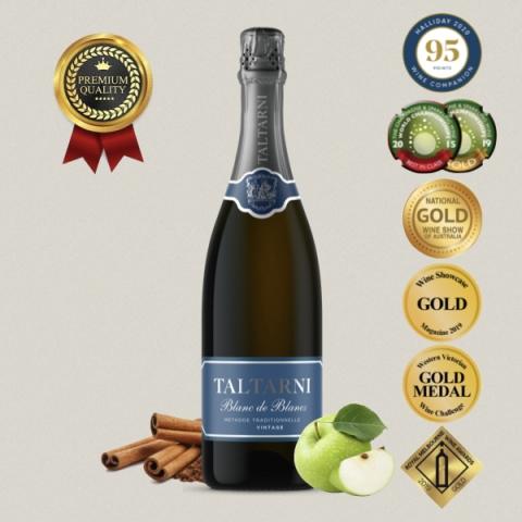 托塔尼 Taltarni 法式傳統氣泡酒 水藍 Blanc de Blancs