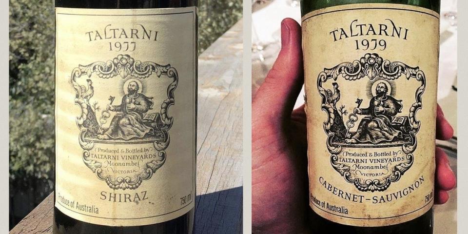 托塔尼 Taltarni 第一瓶葡萄酒
